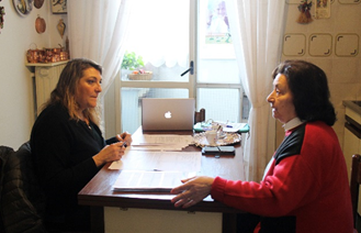Tenant interviews at ATER Treviso before the start of a deep renovation project